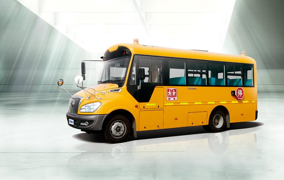 宇通27座中小学生校车ZK6609DX